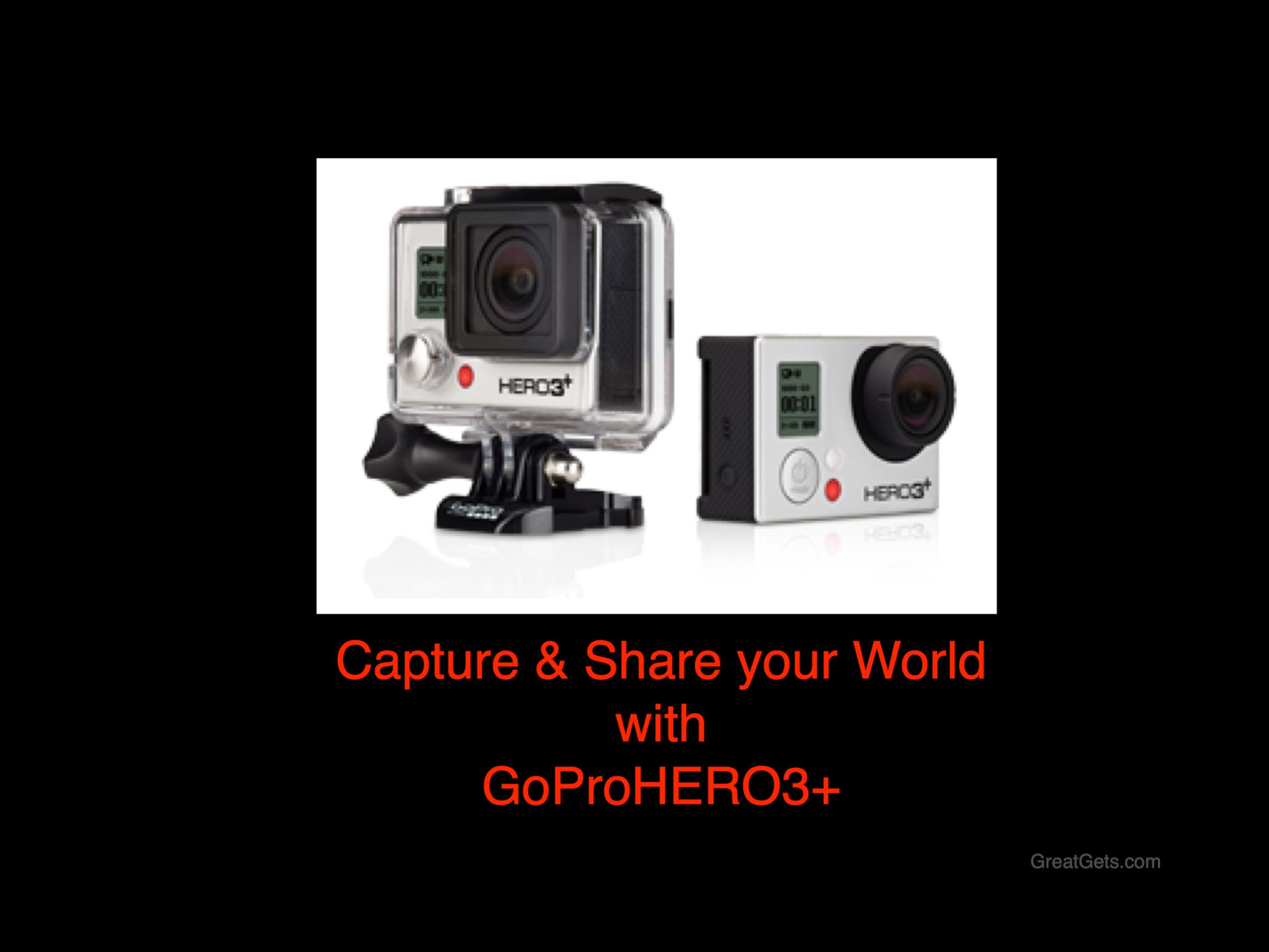 GoProHero3+ , Camera, Best Gift,